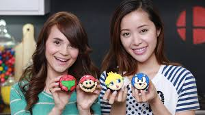 Nerdy Nummies Halloween Cupcakes by Super Smash Bros Cupcakes Ft Michelle Phan Nerdy Nummies Youtube