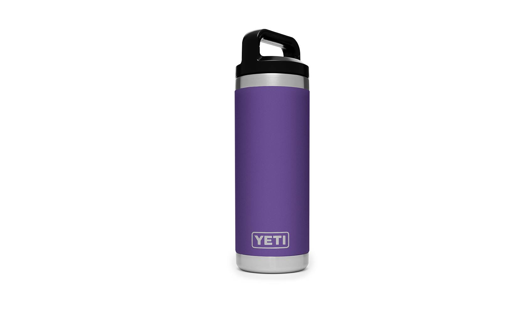 Yeti Peak Purple Rambler Bottle - 18oz