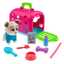 Keia Groom And Go Pet Carrier Play Set Puppy Dog Pals ShopDisney