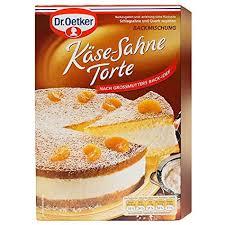 1 x dr oetker baking mix kase sahne torte