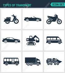 Set Of Modern Vector Icons. Types Of Transport Scooter ... 71 Best Game Truck Business Images On Pinterest Truck Trucks Garbage And Different Types Of Dumpsters On A White Of 3 Youtube Vector Isometric Transport Stock Image 23804891 Truckingnzcom Car Seamless Pattern Royalty Free Cliparts Silhouette Set Download Pickup Types Mplate Drawing Transportation Means Truk Bus Motorcycle With Bus Tire By Vehicle Wheel City Waste Recycling Concept With Fire Vehicles Emergency The Kids
