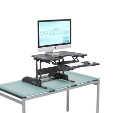 varidesk pro plus 30 single monitor desk from posturite