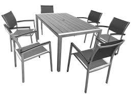 table de jardin en metal table aluminium jardin maison email
