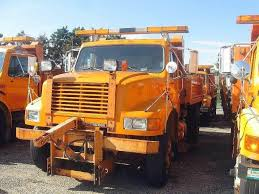 100 Plow Trucks For Sale 1993 International 4900 Spreader Truck Jackson MN