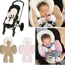 cale tete bebe pour siege auto bébé oreiller soutien du corps bébé voiture poussette siège