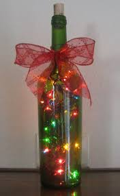 Decorative Wine Bottles Ideas by 70 Best Christmas Bottle Ideas Images On Pinterest Decorated