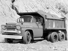 100 Chevy Dump Truck 1958 Chevrolet Spartan 100 Gar Wood