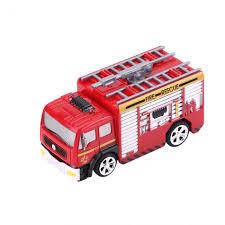 8027 27MHz RC 1:58 Mini Fire Engine Rescue Truck Remote Control Toy ...