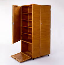 Wardrobe On Rollers By Josef Pohl.   Stuff   Bauhaus ...