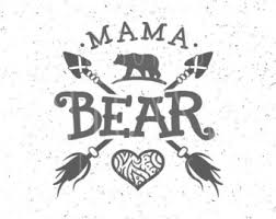 Mama Bear SVG Files Family Bears Svg File Arrows Heart Cricut Silhouette Cut