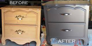How To Spray Paint Particle Board Cabinets