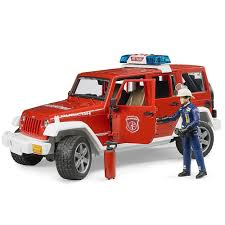 100 Fire Trucks Unlimited Bruder Jeep Rubicon Rescue With Man Vehicle Set