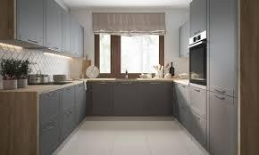 küchenblock küchenzeile küche komplett modern 225x291x285cm lava umbragrau lackiert