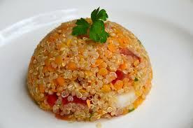 cuisine lentille salade de quinoa aux lentilles corail la p tite cuisine de pauline