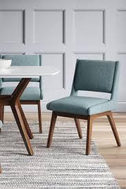 Pair of Selig Z Chairs Mid Century Modern Danish Chairs Danish Teak