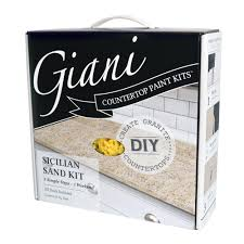 Home Depot Nhance Cabinets by Giani Granite Sicilian Sand Countertop Paint Kit Fg Gi Sicilain