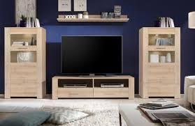 anbauwand edelbuche buche wohnzimmerschrank tv wohnwand 4110
