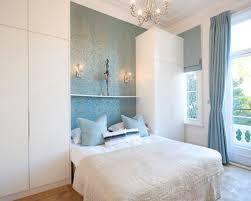 light blue wallpaper houzz