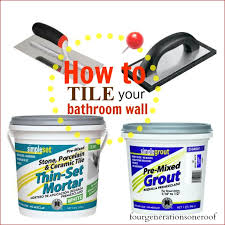how to install mosaic tile tutorial four generations one roof