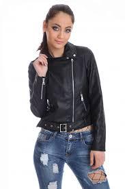 short leather jacket 62073 outerwear women new popolo london