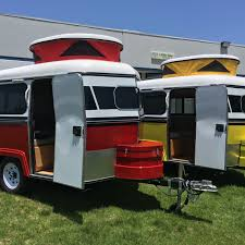 100 Custom Travel Trailers For Sale The Tiny Meerkat Camper Can Be Towed By Almost Any Car Curbed