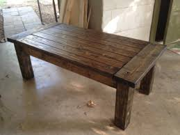 Easy Wood Projects Coffee Table Pdf Plans