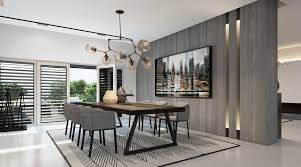 Modern Dining Room Chairs The Fabulous Grey Wall Color Paint Amusing Black Table Sets Broad Brown Wooden Floor Fair Laminate Design White