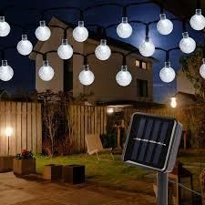 mitening solar lichterkette aussen 7m 50 led lichterkette