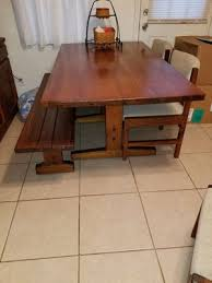 Kitchen Dining Table W 3 Chairs And Bench For Sale In Virginia Beach