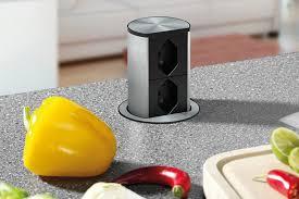 steckdosen in der küche versenkbar als auch einbau