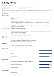 Executive Assistant Resume: Sample & Complete Guide [20+ ... Virtual Assistant Resume Sample Most Useful Best 25 Free Administrative Assistant Template Executive To Ceo Awesome Leading Professional Store Cover Unforgettable Examples Busradio Samples New And Templates Visualcv 10 Administrative Resume 2015 1