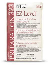 Dap Flexible Floor Patch And Leveler Sds by Tec Ez Level 323 Premium Self Leveling Underlayment 323 50 Lbs