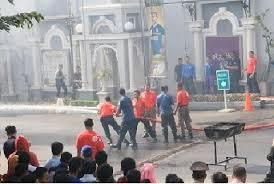 Latihan Kebakaran Di Jogja City Mall JCM Yogyakarta Februari 2017