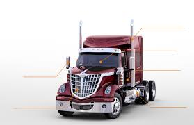 100 Star Trucking Company Lone International Trucks