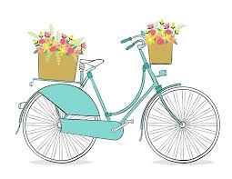 Bicycle Clipart Spring Free Romantic Clip Art
