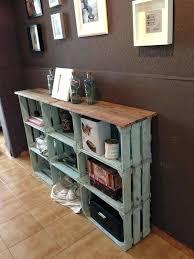 Wooden Crate Ideas Shelves Best Wood On Shelving