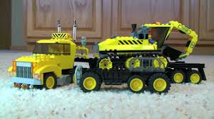 Custom LEGO Truck And Trailer With Excavator Construction Set (MOC ... Lego Ideas Product Ideas Pickup Truck And Trailer Technic Remote Control Flatbed Lego With Moc Youtube Compact Rc Semi Lego Truck Gooseneck Trailer 1754356042 Tractor 6692 Render 3221 Flickr Bobcat Upcoming Cars 20 I Built This Games Tirosh Trailer V1 Mod Euro Simulator 2 Mods This Pickup Can Haul Creations Creations