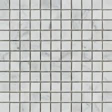 1 x 2 polished bianco carrara marble mosaic tile tilephile