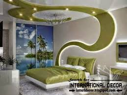 Bedroom Ceiling Ideas Pinterest by Modern Bedroom Ceiling Ideas And Drywall With Led Lights Led Wall