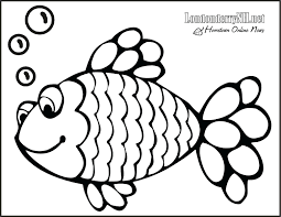 Rainbow Fish Coloring Pages Printable To Print For Free Kids Starfish Full Size