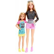 Barbie Sisters Barbie And Stacie Doll 2Pack