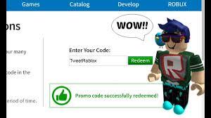 Roblox Promo Code - Get Robux .com