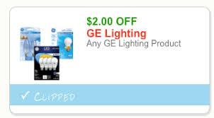 2 ge lightbulb coupon better than free led lightbulbs at rite