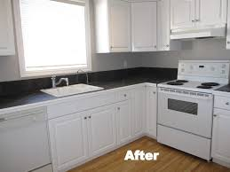 Hvlp Sprayer For Kitchen Cabinets by Kitchen Cabinet Painting In Calgary Eco Star Painting