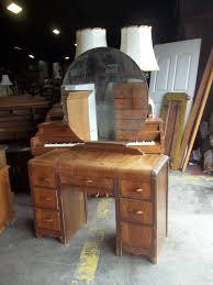 Celluloid Vanity Dresser Set by Beautiful Antique Art Deco Waterfall Furniture Bedroom Set Full