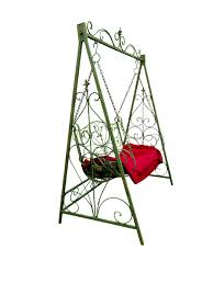 Swing Furniture Garden Isolated