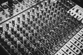 Music Black And White Technology Photography Pattern Monochrome Close Up Font Electronics Audio Mixer Console Precision