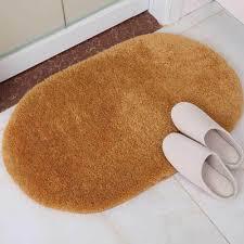 ovale antirutsch absorptions badteppich matte badezimmer