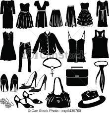 Dress Clipart Womens Clothes 5
