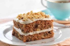 Gluten Free Carrot Cake made with baking mix Recipe